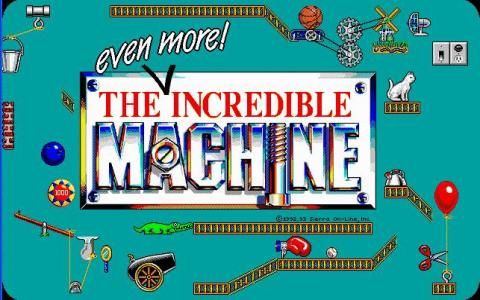 The Even More Incredible Machine - title cover