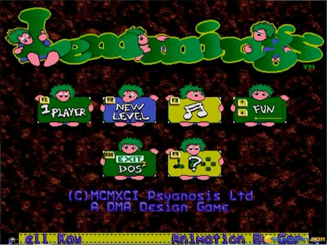 Lemmings - title cover