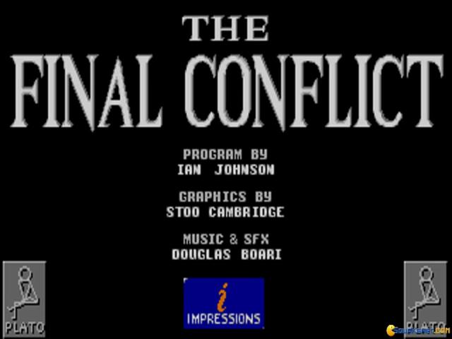 The Final Conflict - title cover