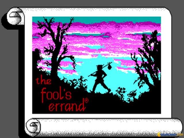 The Fool's Errand - title cover