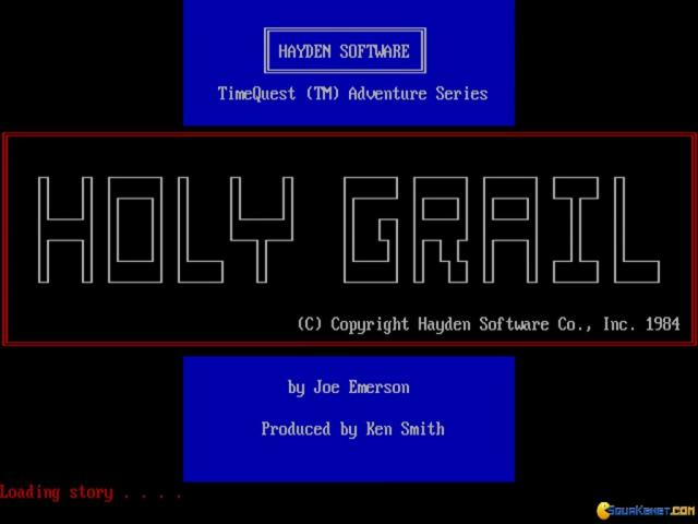 The Holy Grail - title cover