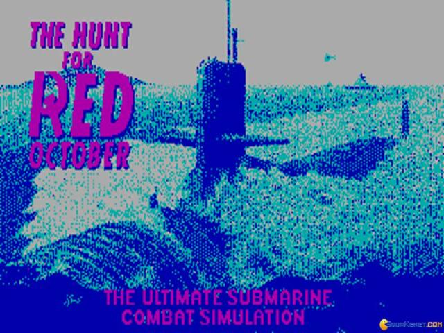 The Hunt for Red October - game cover