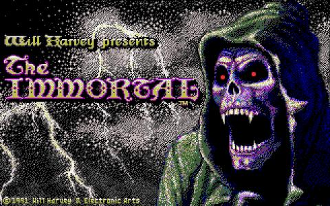 The Immortal - title cover