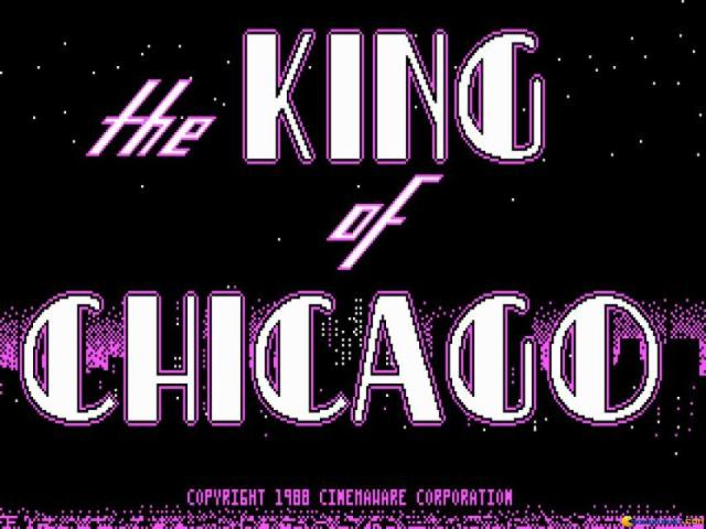 The King of Chicago - title cover