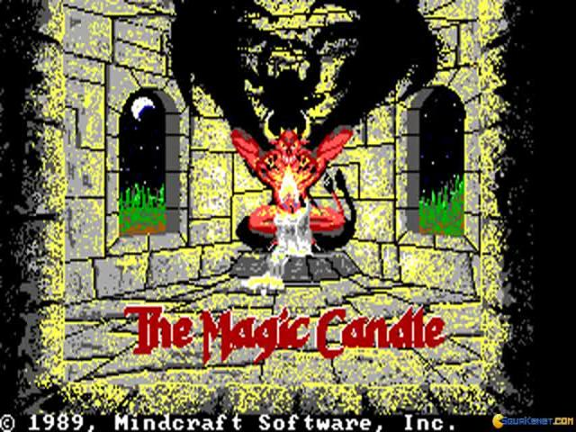 The Magical Candle - title cover