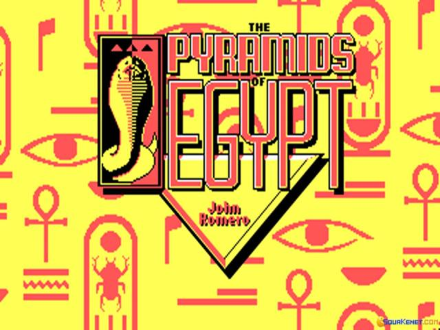 The Pyramids of Egypt - title cover