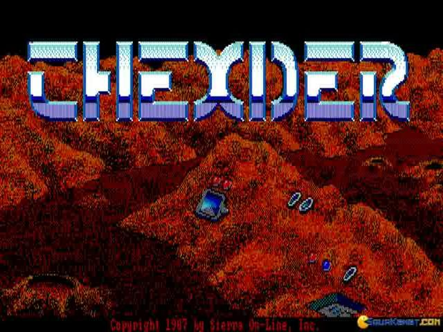 Thexder - title cover