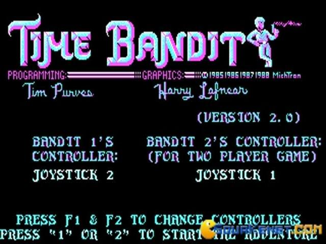 Time Bandit - title cover