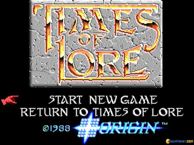 Times of Lore - game cover