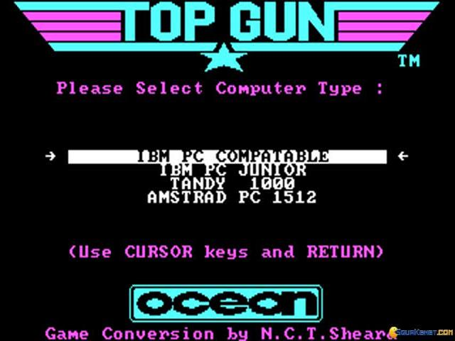 Topgun - game cover