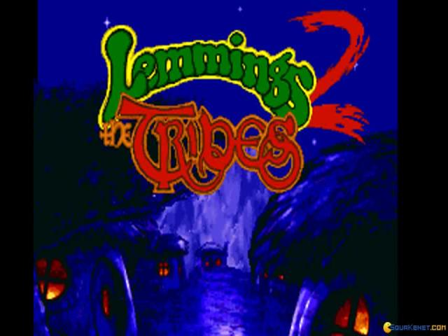 Lemmings 2 - title cover