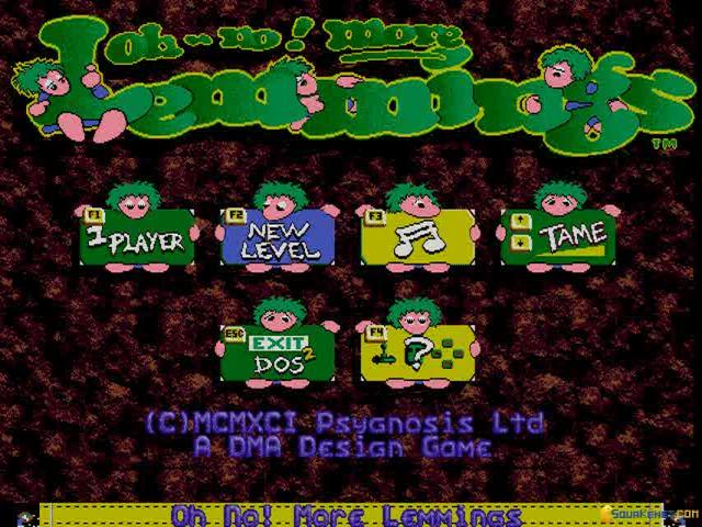 Lemmings 3 - title cover