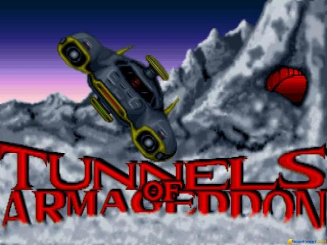 Tunnels of Armageddon - title cover