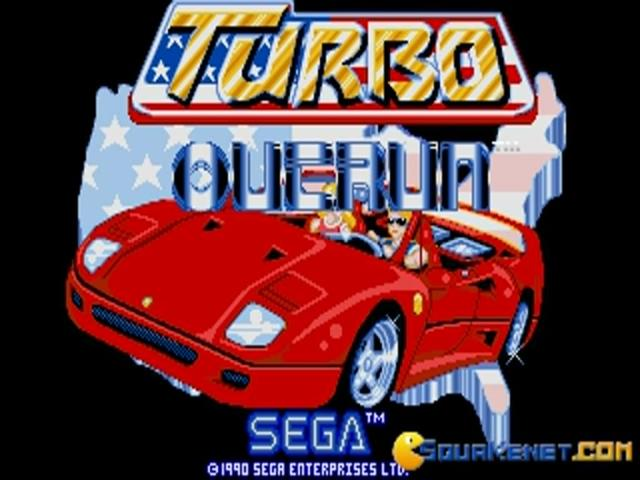 Turbo Outrun - game cover