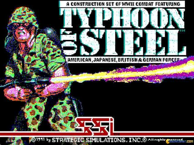 Typhoon of Steel - title cover