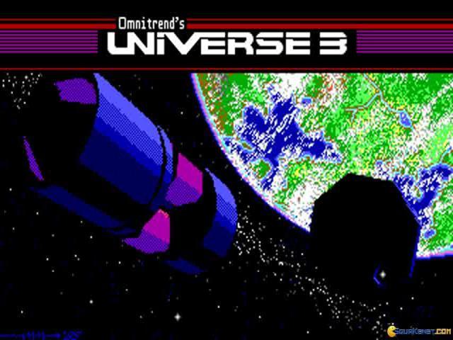 Universe 3 - title cover