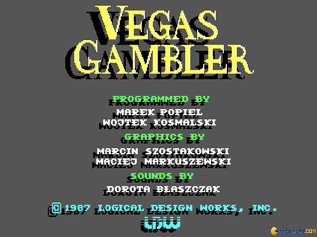 Vegas Gambler - title cover