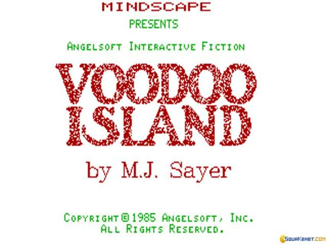 Voodoo Island - game cover