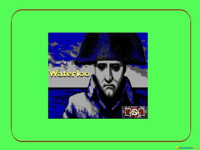 Waterloo - title cover