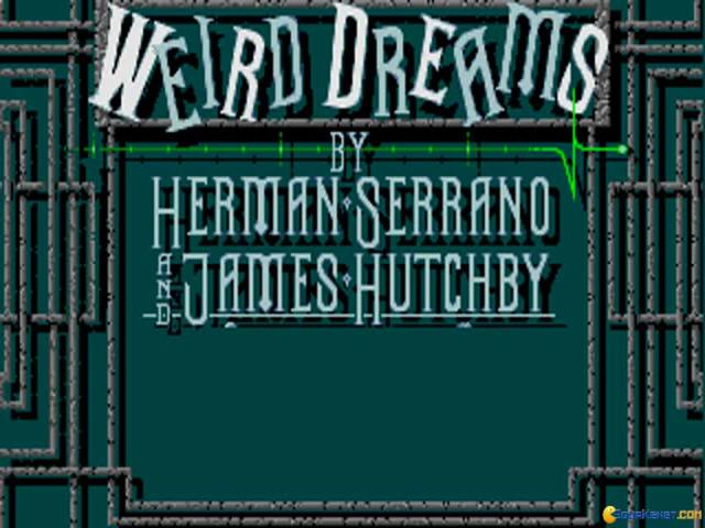 Weird Dreams - title cover