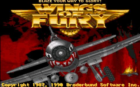 Wings of Fury - title cover