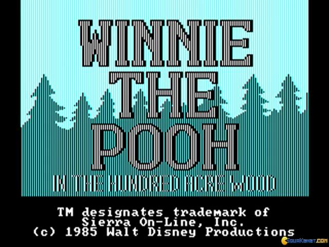 Winnie the Pooh - In The Hundred Acre Wood - game cover