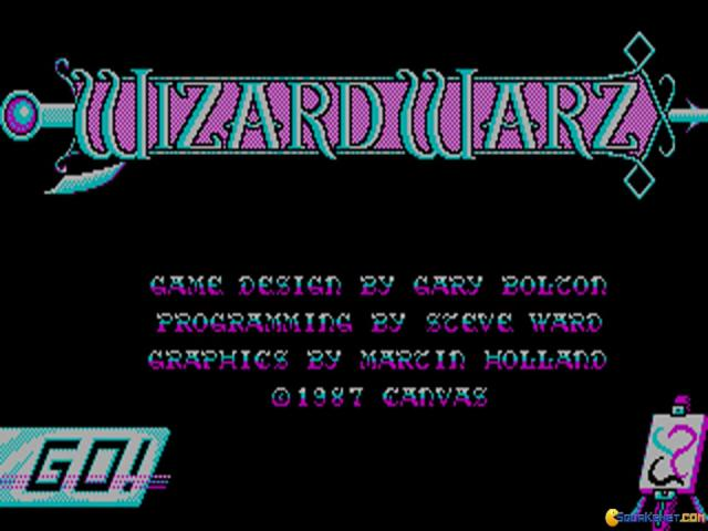 Wizard Warz - title cover