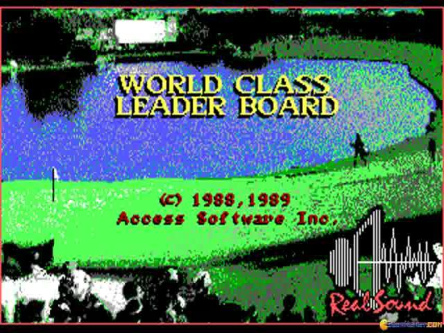 World Class Leader Board - title cover