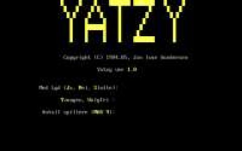 Yatzy - title cover