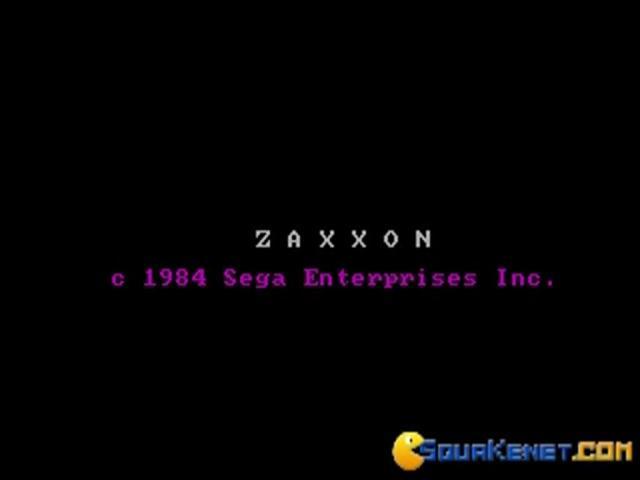 Zaxxon - game cover