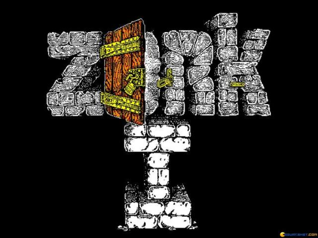 Zork - The Great Underground Empire - game cover