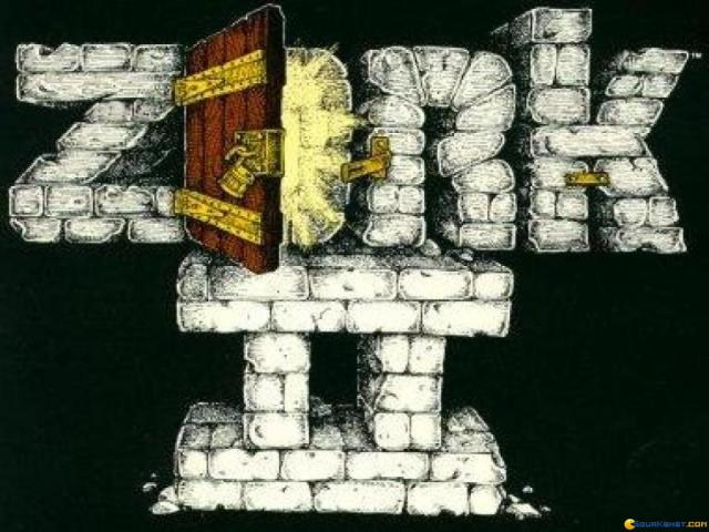 Zork 2 - The Wizard of Frobozz - title cover
