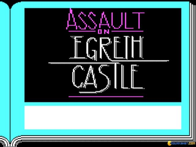 Zork Quest - Assualt on Egreth Castle - title cover