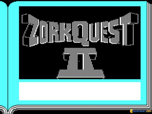 Zork Quest 2 - The Crystal of Doom - title cover