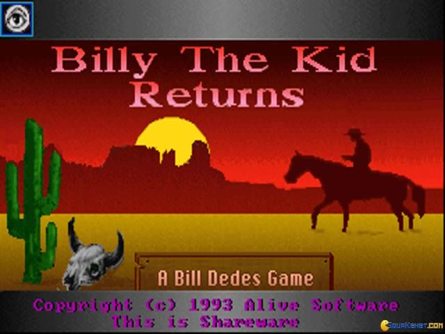 Billy the Kid - game cover