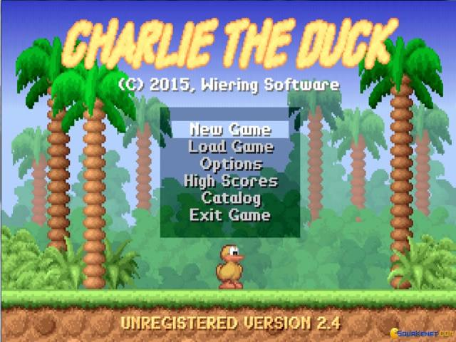 Charlie the Duck - title cover