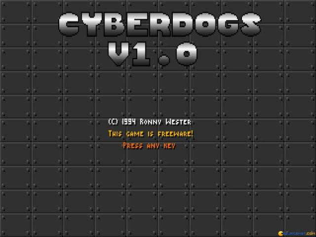 Cyberdogs - title cover