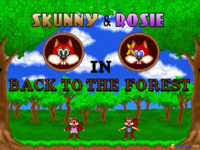Skunny - Back to the Forest - game cover