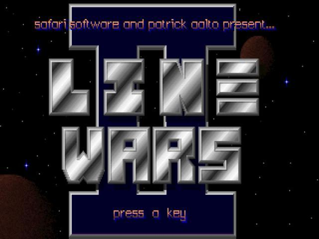 Line Wars 2 - title cover