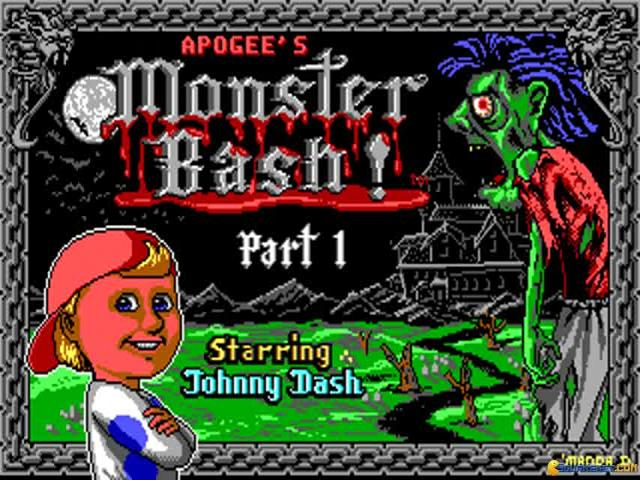 Monster Bash - title cover