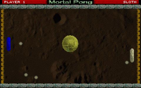 Mortal Pong - game cover