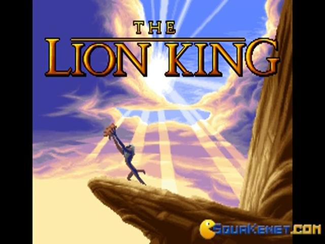 Lion King - title cover