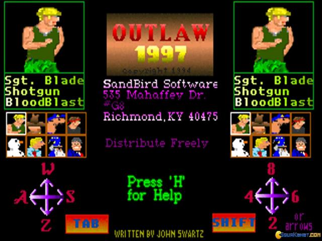 Outlaw 97 - title cover