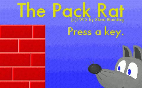 Packrat - title cover