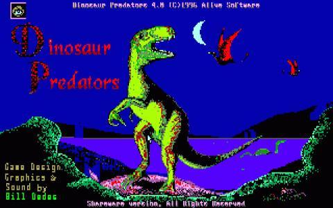 Dinosaur Predator - title cover