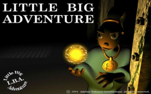 Little Big Adventure - title cover
