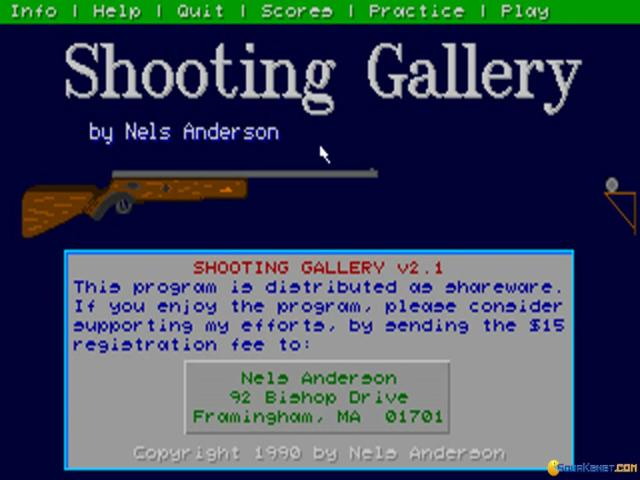 Shooting Gallery - title cover