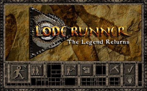 Lode Runner '95 - title cover