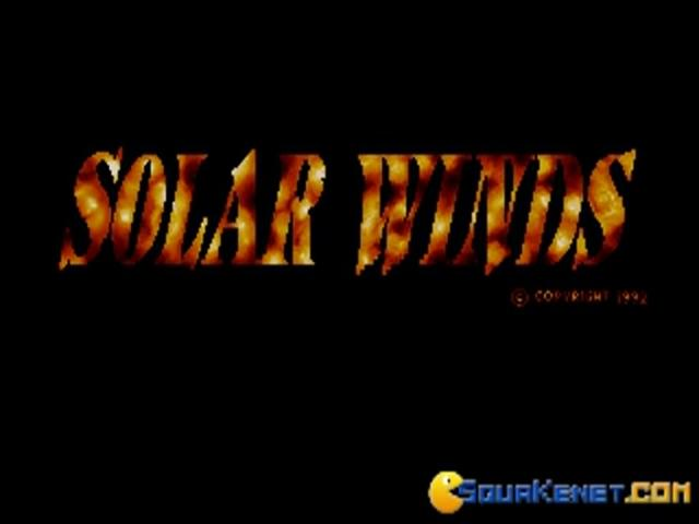 Solar Winds - game cover