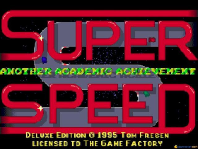 Super Speed - game cover